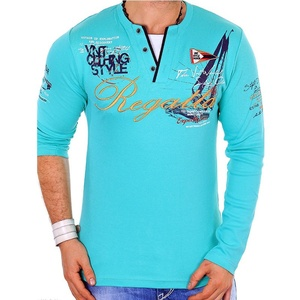 Image 5 - ZOGAA marque décontracté Polos hommes 2019 mode imprimé sweat shirt Slim Fit à manches longues Polos pour homme vêtements top t Shirts