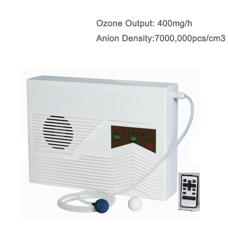 400MG 220V Water Air Ozone Generator For Water Treatment Water Ozonizer Anion Generator ND-400MGN nexon ce rohs household pre filtration 400mg 8w fruit washing machine ozone generator ozonizador nd 400mg