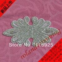 Formal Wedding Dress Accessories Rhinestone Hot Fix Iron Transfer Flatback Pearls With Rhinestones