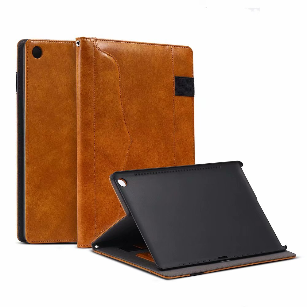 Business Smart PU Leather Hand Strap Funda Cover Manget Smart Flip Case For Huawei Mediapad M5 10.8 Inch CMR-W09 CMR-AL09 Cover