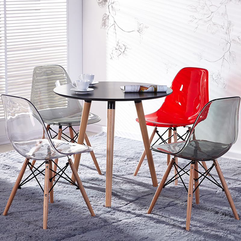 Furniture The round table cafe tables Contemporary and contracted