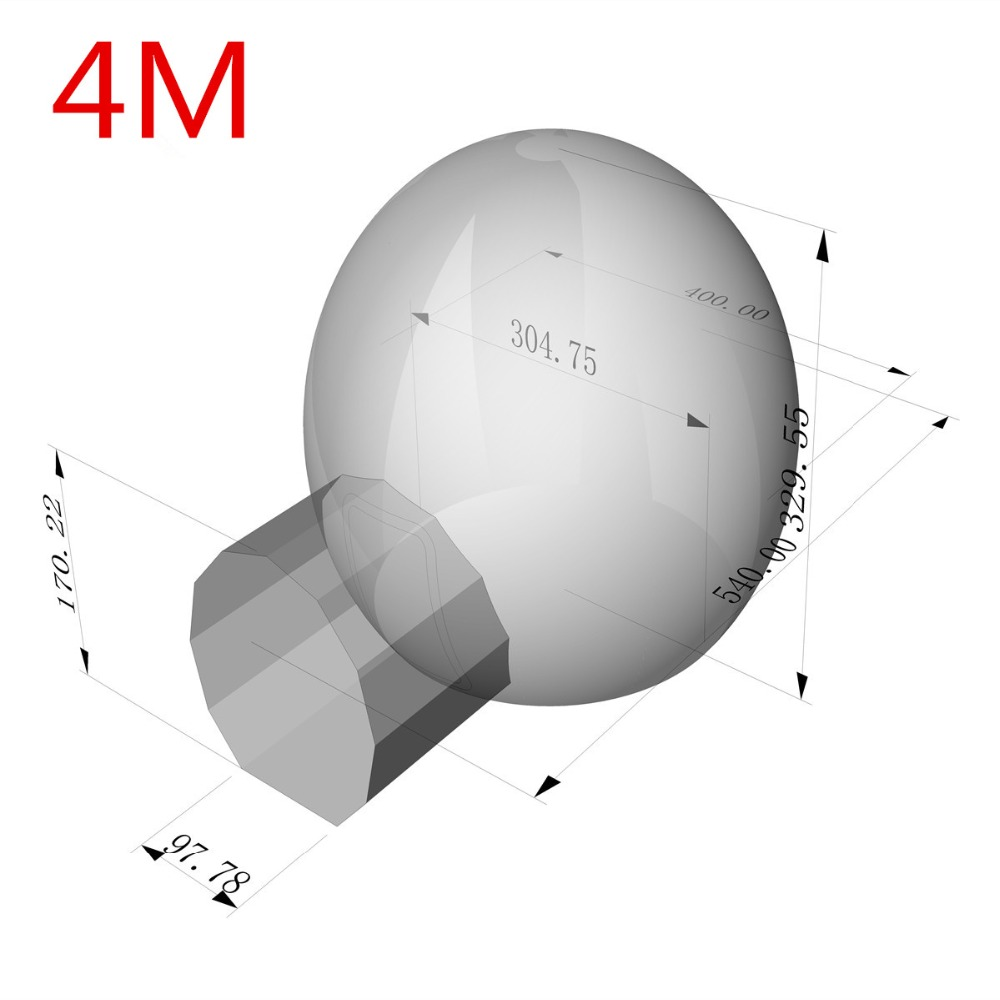 3/4/5 m 10/13/16ft Camping en plein Air tente à bulles gonflable grande maison bricolage dôme Camping cabine Lodge bulle d'air tente transparente - 3