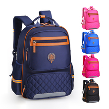 Kids School Bag Reflective Strip Backpack Schoolbag Waterproof Nylon School Bag For Girls Boys Children Backpack Mochila Escolar