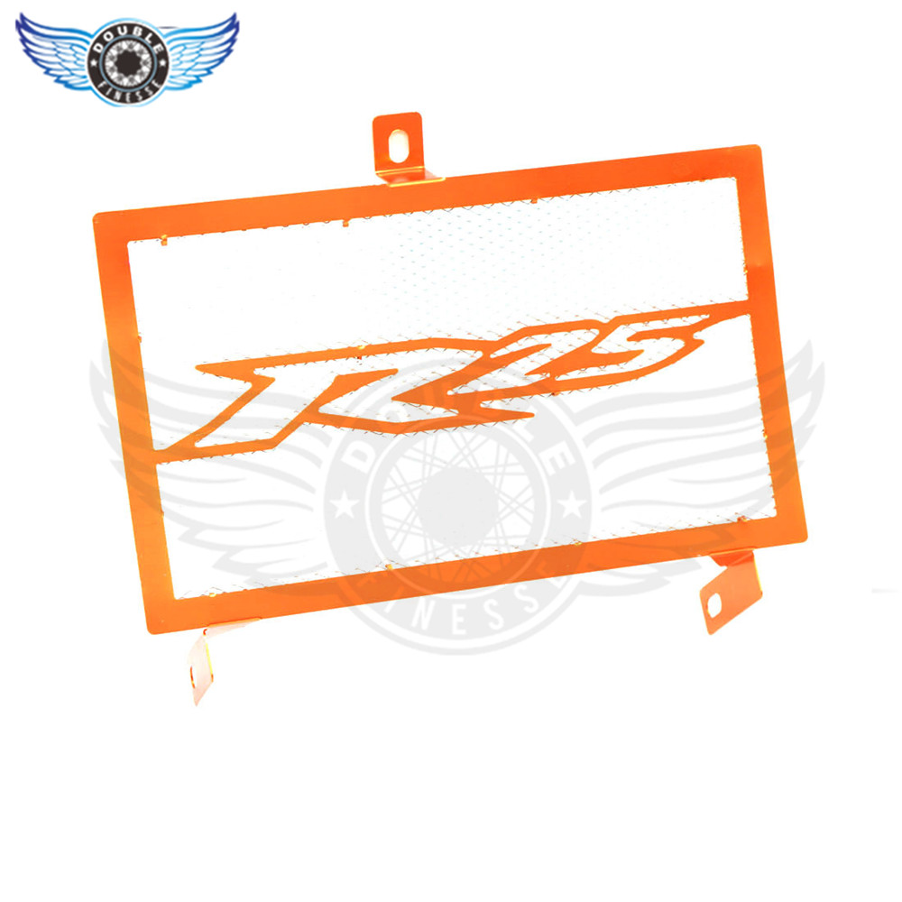new  Motorcycle Stainless Steel Radiator Guard Protector Grille Grill Cover orange  for yamaha yzf-25 yzf r25 2015 2016 15 16 arashi motorcycle radiator grille protective cover grill guard protector for 2008 2009 2010 2011 honda cbr1000rr cbr 1000 rr