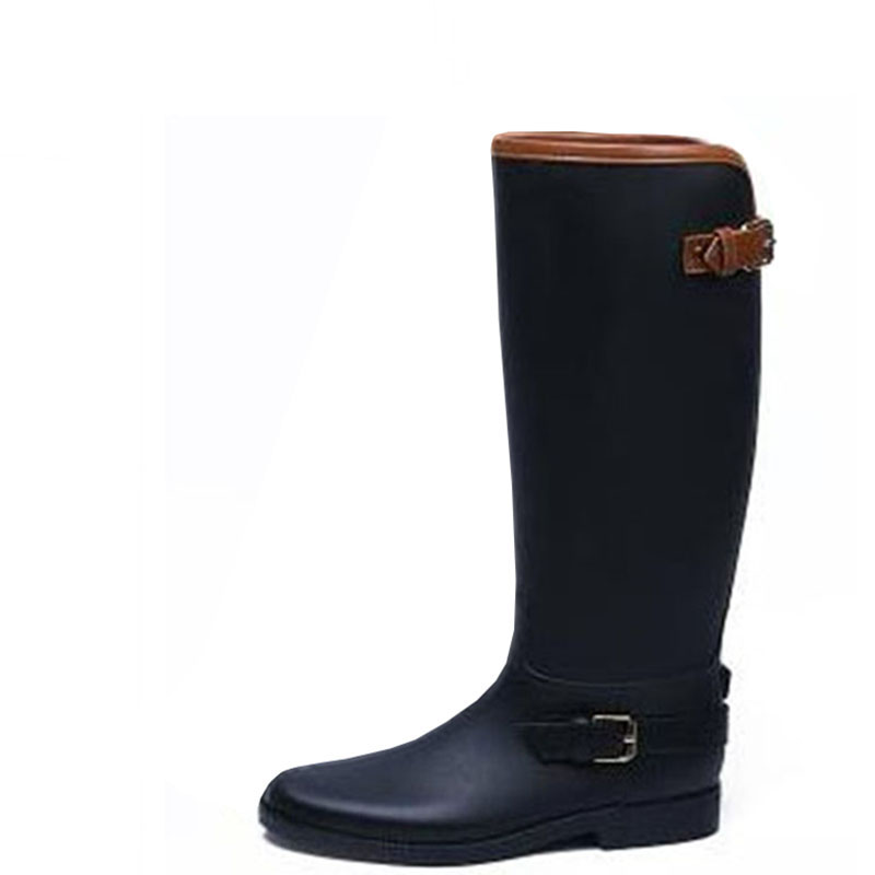 Fashion tall canister boots ms yu chun xia luxury water boots shoes waterproof non-slip shoes rubber shoes women's boots shanghai chun shu chunz chun leveled kp1000a 1600v convex plate scr thyristors package mail