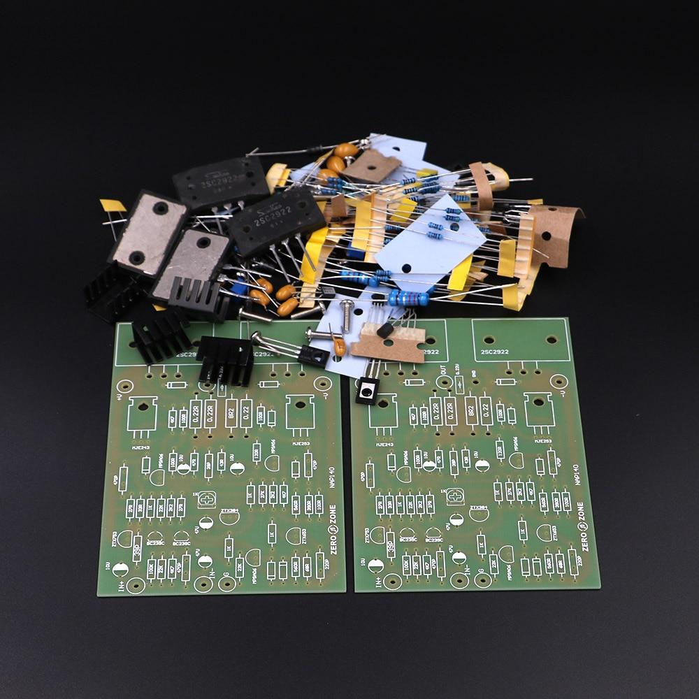 GZLOZONE One Pair Clone NAIM NAP140 Amplifier Kit DIY Amp Kit (2 Channel)