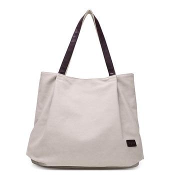 Fashion Canvas Tote Bag Women Handbag Shoulder Bags Messenger Bag Casual Hobos Bolsa Female Feminina High Quality Large Capacity tote bag