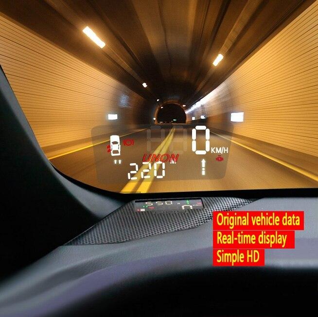 Projecteur de pare-brise HUD automatique d'affichage de tête de l'électronique pour Toyota CHR C-HR 2017 2018 2019