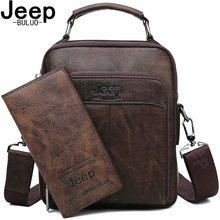 JEEP BULUO Brand 2019 NEW Male Crossbody Shoulder Messenger Bags Men Handbag High Quality Split Leather Man Bag Fashion Bags new collection 2017 fashion men bags men casual leather messenger bag high quality man brand business bag men s handbag