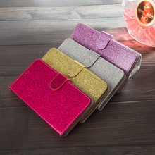 Bling Glitter Cover for Oneplus 1+ 7 Pro 6T 6 5T 5 3 3T Magnetic Flip Women Wallet Phone Leather Bags Stand Case For 1+6T Case