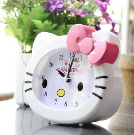 Hello Kitty Alarm Clock Lovely Table Desktop Alarm Clock