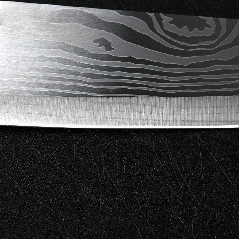 Damascus Vegetable Japanese Chef Knife 7Inch Stainless Steel Nakiri Knife Slicing Meat Professional Butcher Cleaver Knives in Kitchen Knives from Home Garden