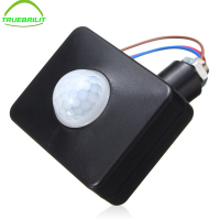 Outdoor Motion Sensor Wall Light Lamp LED PIR Infrared Motion RF180 Degree Switch Sensor Detector AC110V