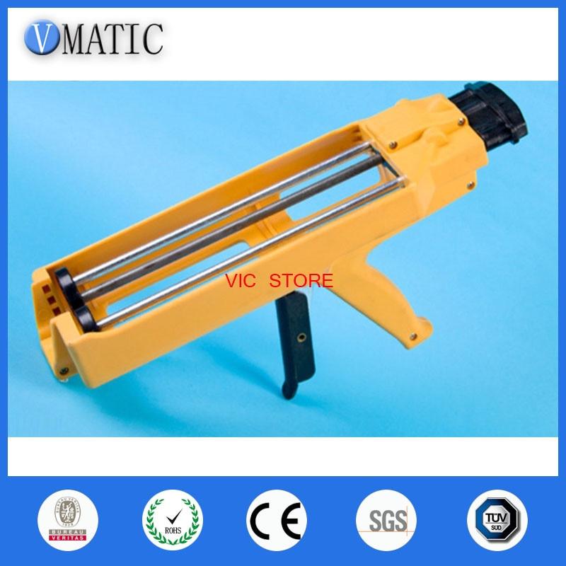 Aliexpress Fastselling Quality 600ml 1:1 1:2 AB Glue Gun Manually AB Glue Cartridge Gun Caulking Gun 600ml цена