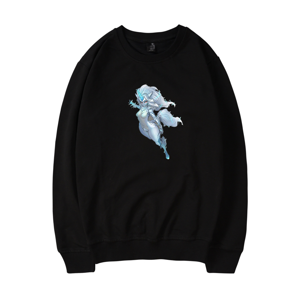 SMZY Monster Hunter World Capless Sweatshirts Men Long Fashion APRG Gmae MHW Hoodie Sweatshirt Men Size Plus Casual Fans Clother