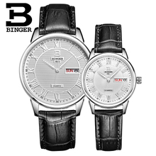 Brand Binger Men Watches Quartz Hour Date Clock Male Leather Sports Lover Watch Casual Military Wrist Watch Relogio Masculino