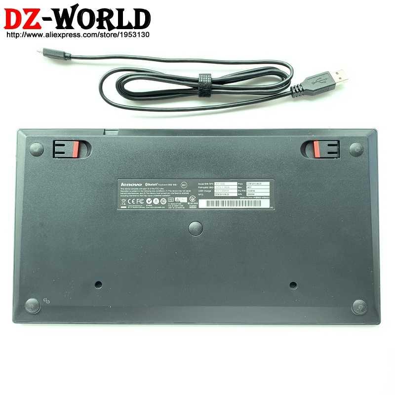 מקורי חדש עבור Lenovo ThinkPad Bluetooth זה איטליה מקלדת KT-1255 אלחוטי Tablet PC מחשב נייד USB מטען Trackpoint 03X8706