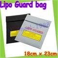 Lipo RC bateria Safe Guard bolsa de carregamento Sack salvar pacote de 18 cm x 23 cm 3 cores para escolher