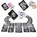 Stencils brilho Tatuagem para tatuagem corpo 50 peças, projetos mistos frete grátis