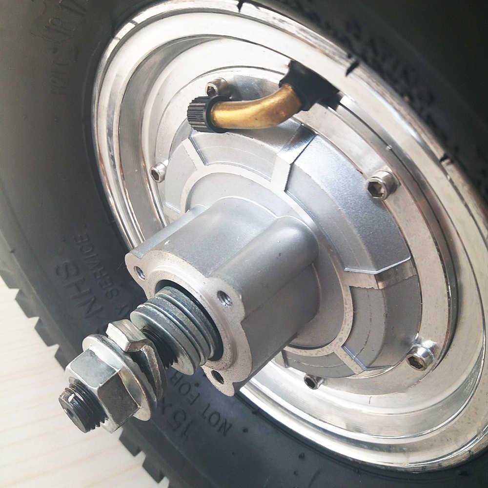Elektrische Fahrrad Motor Rad 15 zoll 24V 36V 48V 350 W-800 W DC Hub Motor elektrische Roller Motor bicicleta electrica