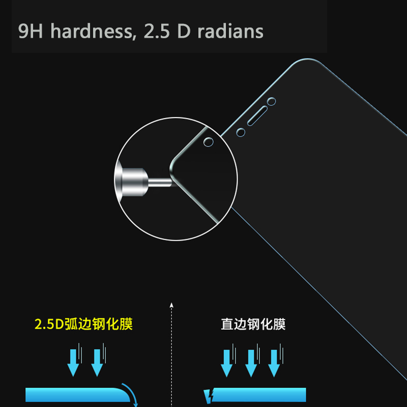 0 26mm 9h 2 5D Screen Protector For Xiaomi Redmi 5a Glass Tempered Glass For Xiaomi Redmi 5A Glass Anti scratch Protective Film in Phone Screen Protectors from Cellphones Telecommunications