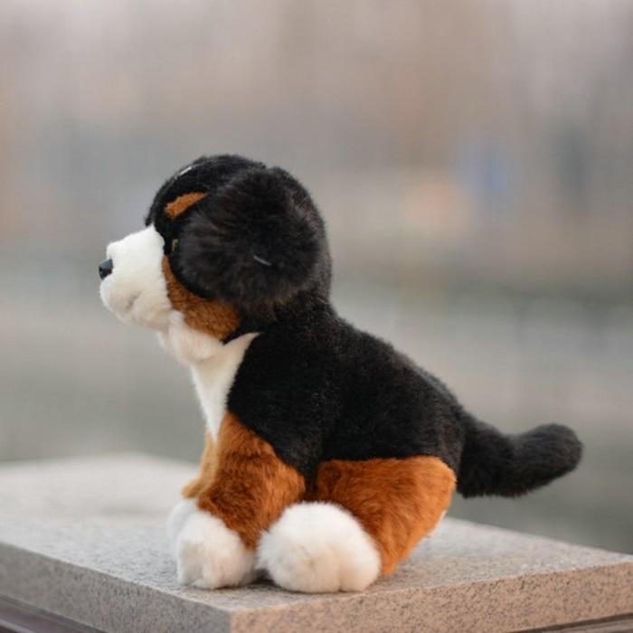 Cute Plush Animals Toy Bernese Mountain Doll Kids Toys Birthday