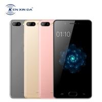 KENXINDA X6 5 Inch Mobile Phone Android 7.0 Celular Quad Core 3G+32G 13MP Dual Back Camera Fingerprint 4G LTE Smartphone 3500mAh