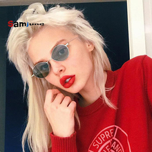 Samjune 2018 Water Drop Shaped Cat Eye Sunglasses Women Men