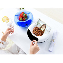 Plastic Storage box Creative Bowl Shape container Perfect For containing Seeds Nuts&Dry Fruits mobile phone support