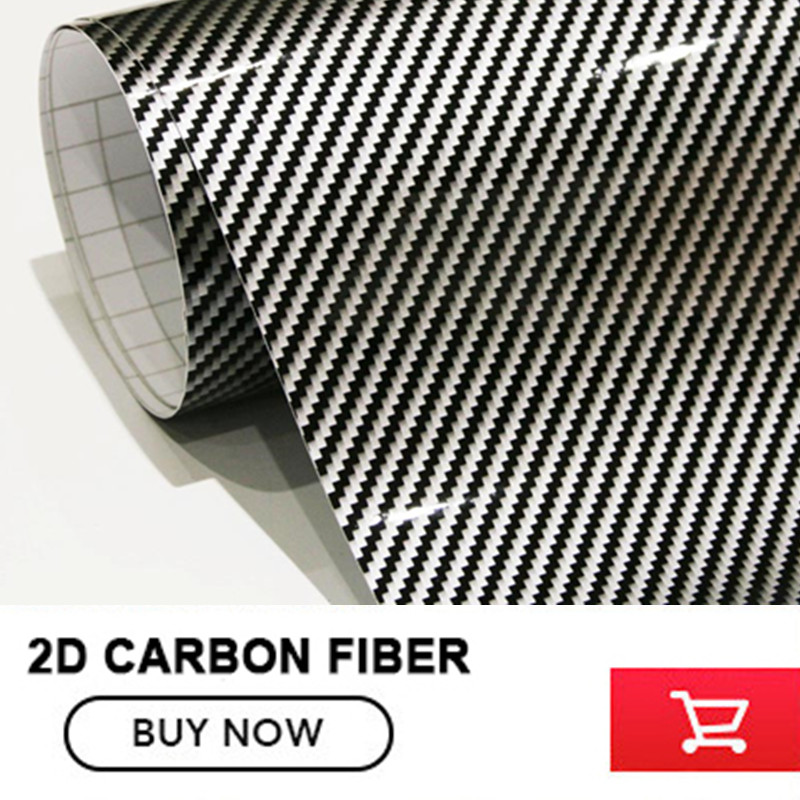 Silver Black Plaid Glossy 2D  Carbon Fibre Car Wrap Vinyl  Carbon Fiber Vinyl Foil With Air Channel For Car Styling  free