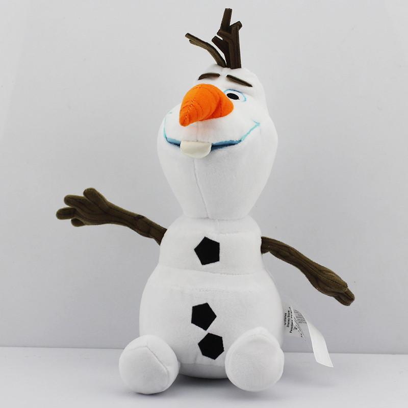 30cm 50cm Olaf Plush Toys Big Size Snowman Cartoon Olaf Soft Plush