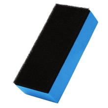 Многоцелевой 4 шт. Губка из микрофибры для полировки, восковые аппликаторы, подушечки для салона автомобиля, для домашней уборки, портативный практичный инструмент 90*40 мм