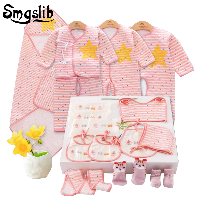 15Pcs/Set Baby clothing Sets Autumn Baby Boys Clothes Infant Striped T-shirt+Pant Kids Outfits Toddler girl Suit 3 6 9 12 Months newborn toddler girls summer t shirt skirt clothing set kids baby girl denim tops shirt tutu skirts party 3pcs outfits set