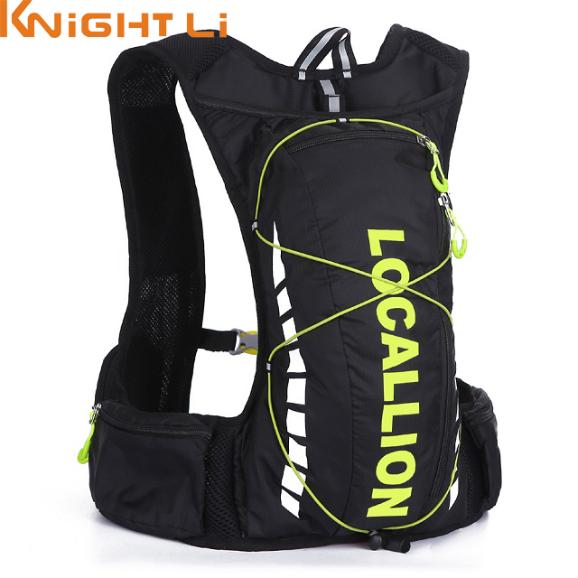 10L Professional Hydration Bag Bicycle Backpack For Men Road Packsack Rucksack Vest Bag Hydration Pack Women's Shoulder Bags 508