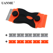 UANME Double-end Phone LCD Glue Remover Scraperfor Mobile Tablet Screen Repair Cleaning Tool with 10 Pcs Blades