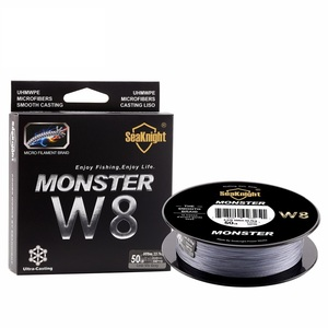 Image 5 - SeaKnight  MONSTER W8 Braided Fishing Lines 20 100LB 8 Weaves Wire Smooth PE Multifilament Line for Sea Fishing 500M