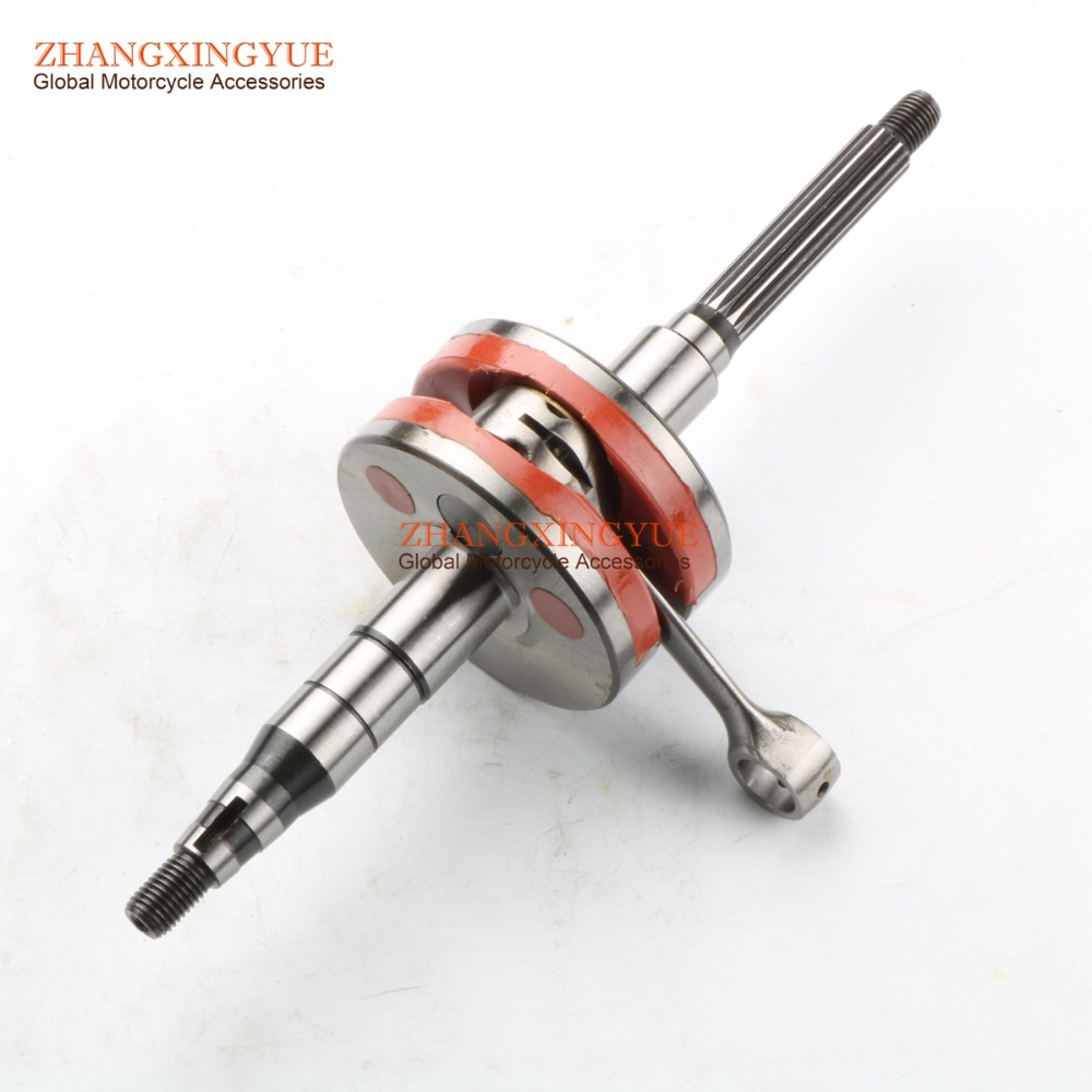 + 2mm High Performance Crankshaft for Yamaha JOG50 Minarelli 50 JOG 3KJ 1E40QMB 10mm
