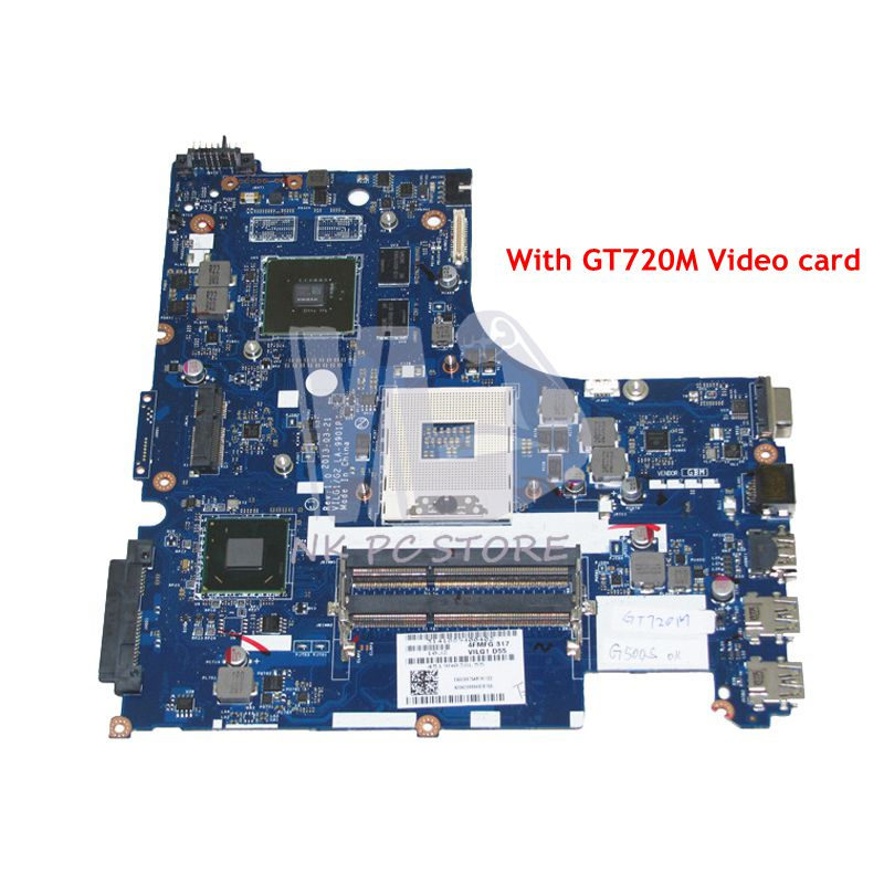 NOKOTION 90003095 ILG1 G2 LA-9901P MAIN BOARD For Lenovo ideapad G500S Laptop Motherboard HM76 DDR3 GT720M graphics