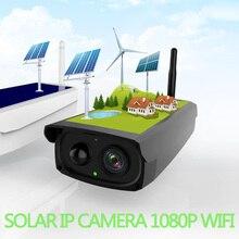 Megapixel Solar Battery cctv camera Wifi 1080P IR bullet PIR Sensor Speark MIC Battery network Cam video surveillance security