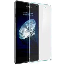 Original Tempered Glass For Sony For Xperia Z2 Z1 Z3 Compact Mini Z4 C3 E3 E4 M2 M4 Aqua T2 Ultra Screen Protector film Case(China)