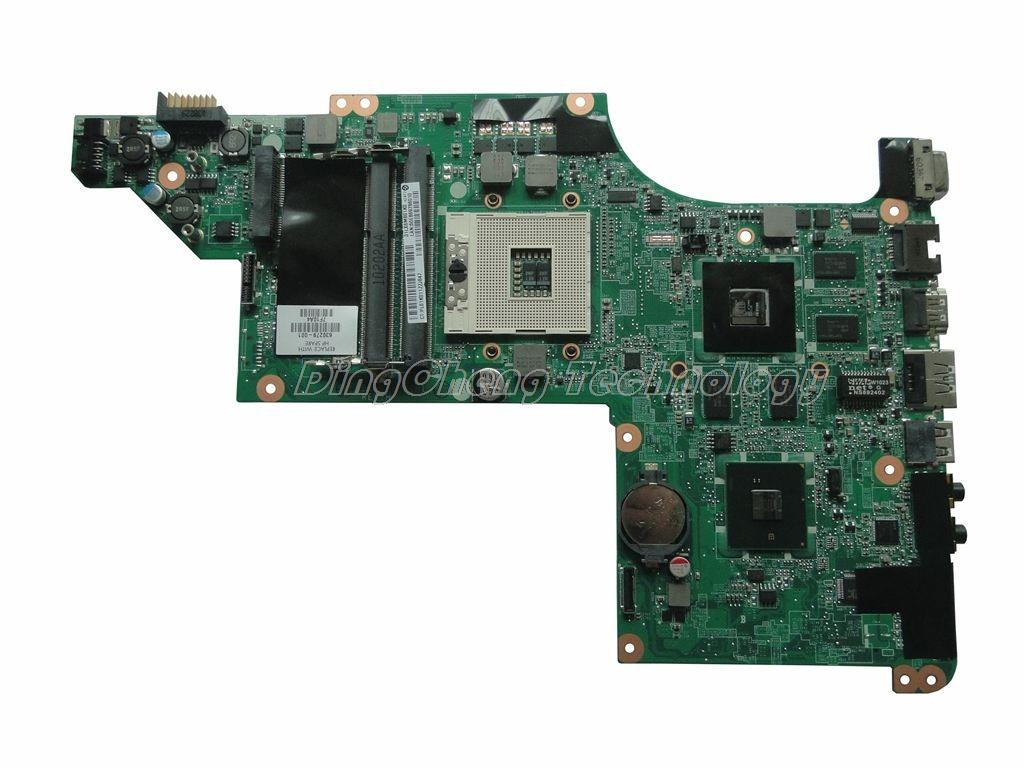 все цены на  45 days Warranty laptop Motherboard For hp DV6 DV6-3000 630279-001 for intel cpu with HM55 5650/1G non-integrated graphics card  онлайн