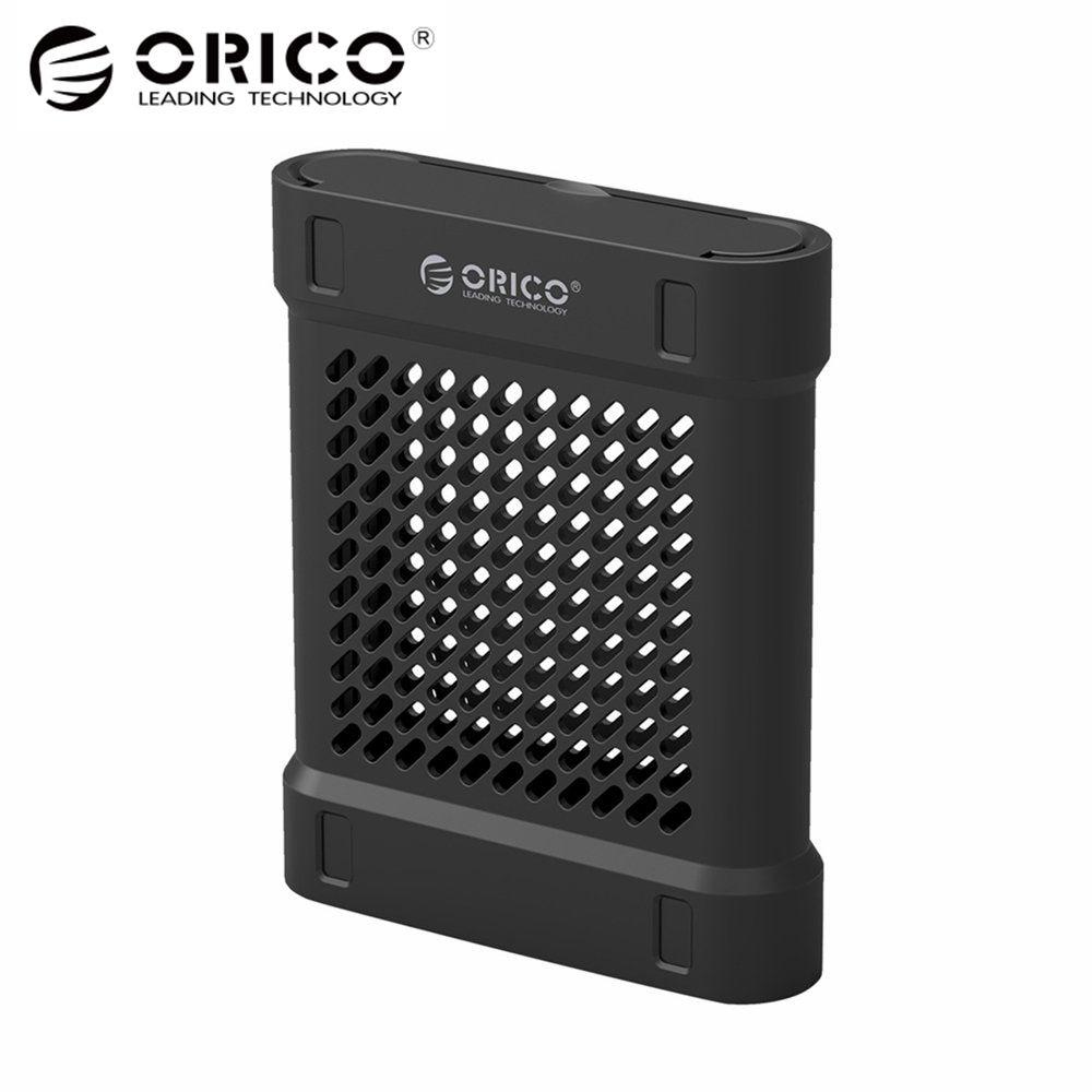 ORICO 3.5 SATA Hd Boîte HDD Disque Dur SSD Cas USB Haute Vitesse Externe Boîtiers De Protection Boîte De Rangement Pour Mac OS Windows