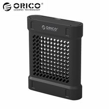 ORICO 3.5 SATA Hd Box HDD Hard Disk Drive SSD Case USB High Speed External Enclosures Protective Box Storage For Mac OS Windows