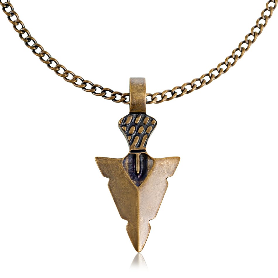 Arrowhead Necklace Mens