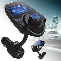 Mayitr Bluetooth Car FM Transmitter Kit Handsfree Wireless FM Transmitter MP3 Player USB LCD Modulator For