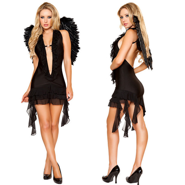 Sexy angel costume for women