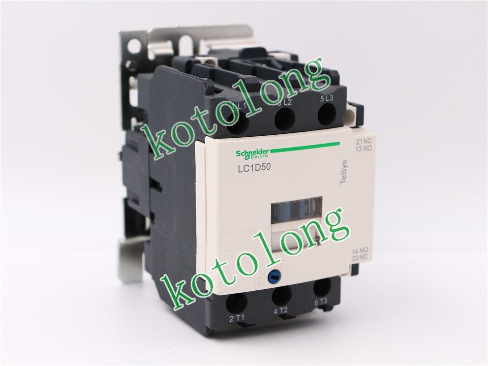 все цены на AC Contactor LC1D50 LC1-D50 LC1D50Q7 380V LC1D50R7 440V LC1D50U7 LC1D50V7 400V онлайн