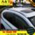 A & T estilo do carro Para Honda CRV Chuva escudo 2015 2016 Honda CRV engrenagem barômetro carro decorativo Decoração Da Janela tira