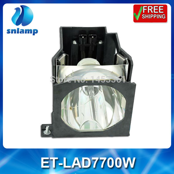 Replacement projector lamp bulb with housing ET-LAD7700W for PT-D7700 PT-D7700K PT-DW7000 PT-DW7000K PT-D7000 free shipping projector lamp projector bulb with housing et laa410 fit for pt ae8000 pt ae8000u
