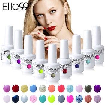 Elite99 15ml Soak Off Gel Nail Polish Long Lasting UV Gel Varnishes Nail Art Gelpolish Pick 10pieces From 539 Gorgeous Colors